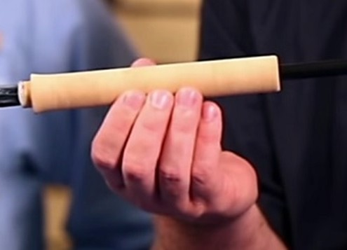 Building The Handle On A Fishing Rod Blank