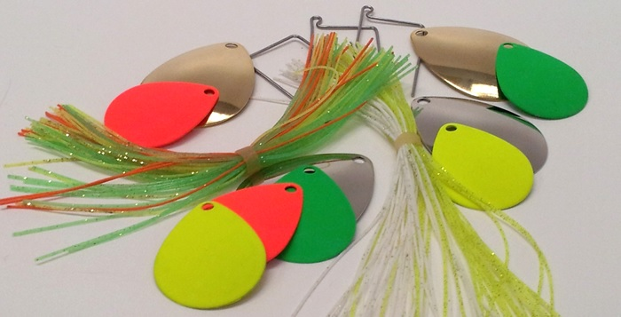 How to make a tandem spinnerbait diy fishing rods for How to make a fishing spinner