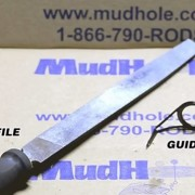Preparing The Fishing Rod Guides For Installation