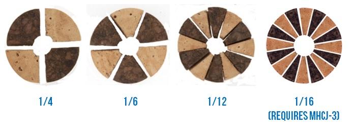Cork Handle Wedge Examples