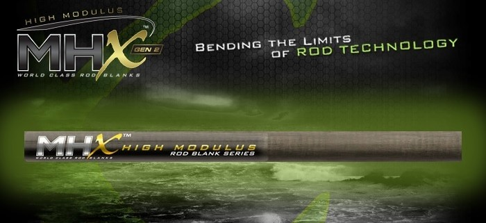 MHX 2nd Generation High-Mod Fishing Rod Blanks