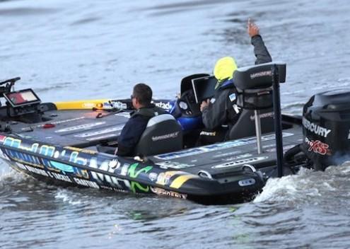 Brandon Lester Bassmaster Elite at Sabine River