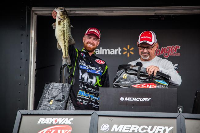 Casey O'Donell FLW Co-Angler Champion 4