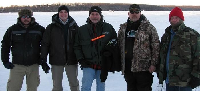 Mud Hole Instructors Go Ice Fishing