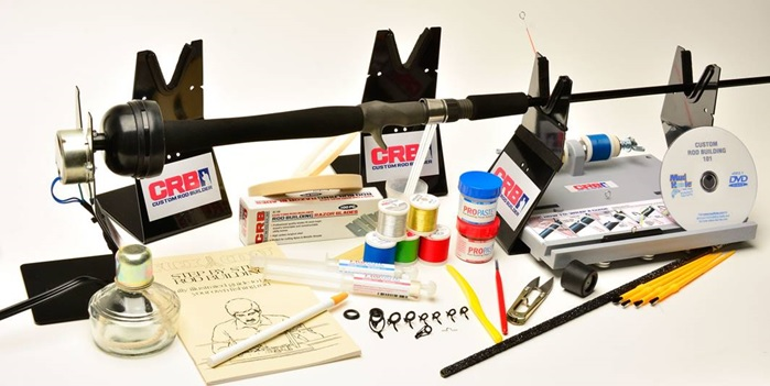 Turnkey rod building kit by crb mud hole blog for Fishing rod building tools