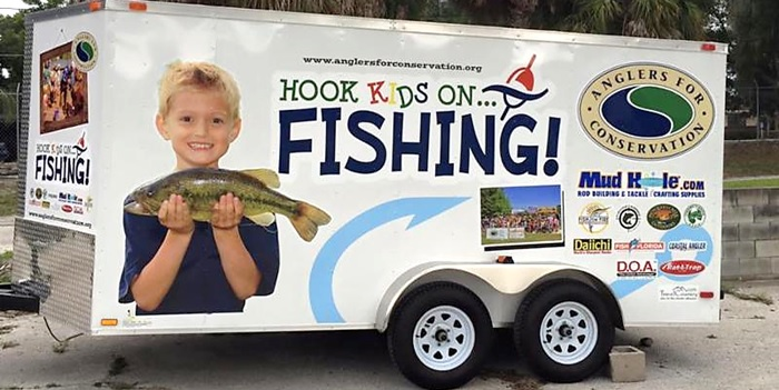 Hook Kids On Fishing Got A New Trailer