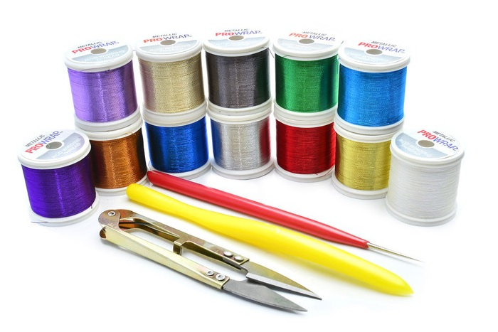 Step 1 Choose your Thread. (Pictured is the Trim Band Creation Kit from MudHole.com - click on picture to go to store!)