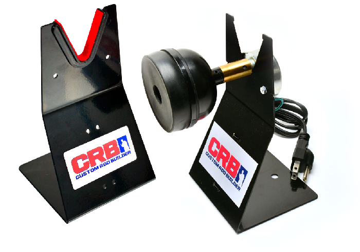 The RBS Rod Drying System with Dryer Clutch from CRB is a must when it comes to add-ons for your rod building station.