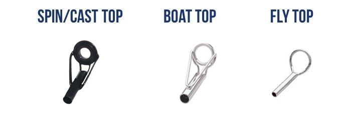 rod tip repair ring various sizes replacement rod tip eye ring Fishing rod tip