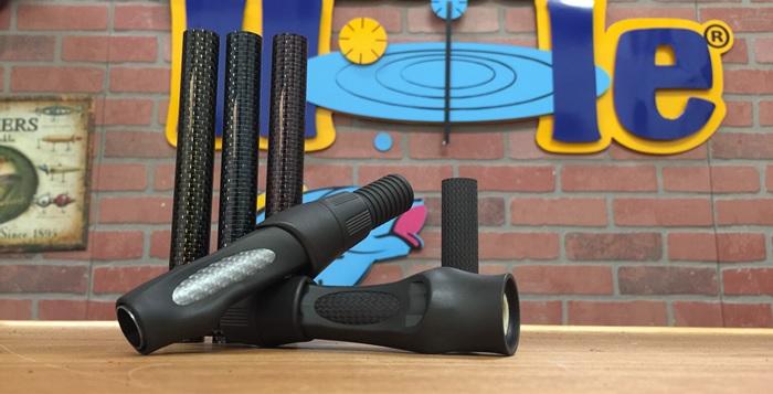 Black Up Locking Reel Seat w// Carbon Tube Arbor