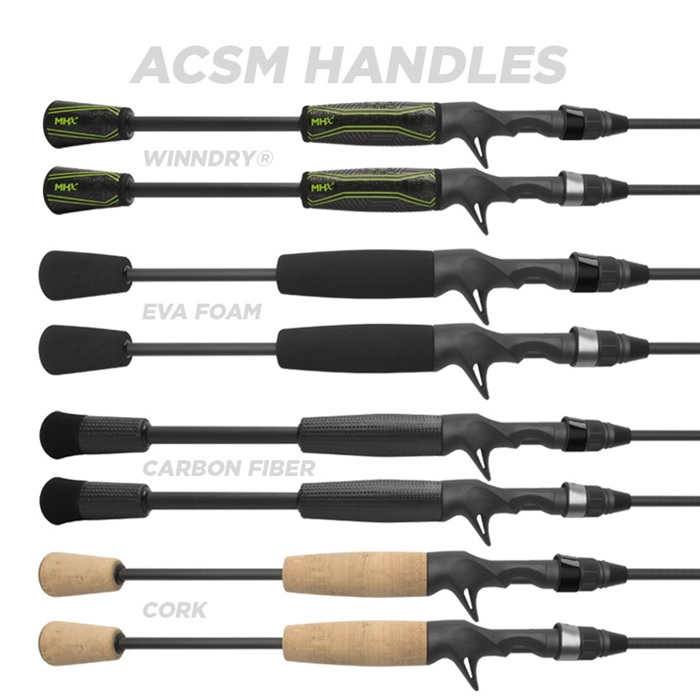 ACSM Reel Seat and Handle options