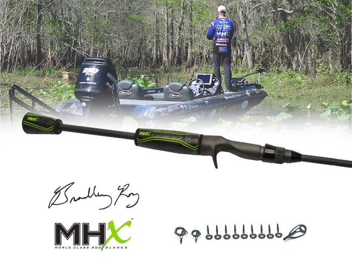 Bradley Roy has to have this Flippin' Heavy Casting Rod and its incredible power on his boat at all times.