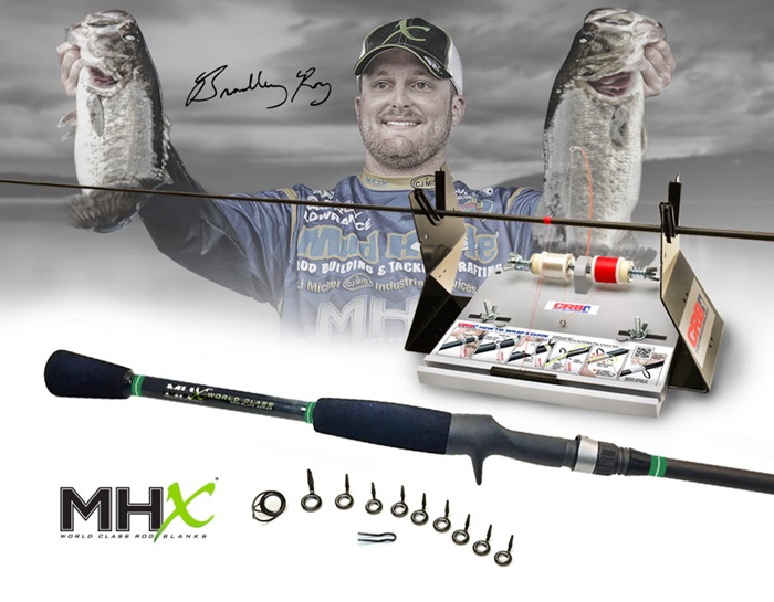 Bradley Roy's Signature Bass Rod brings a versatile performance that's hard to beat.