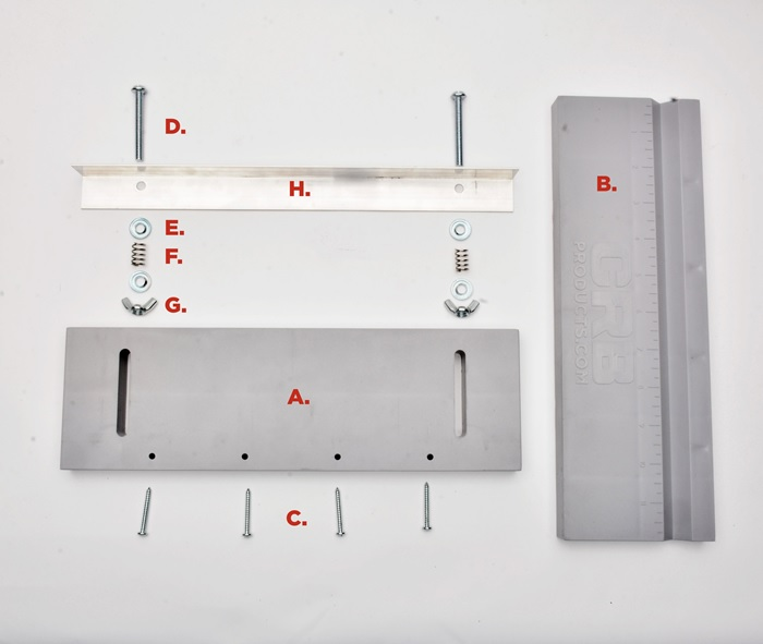 CRB Butt Alignment Tool Parts