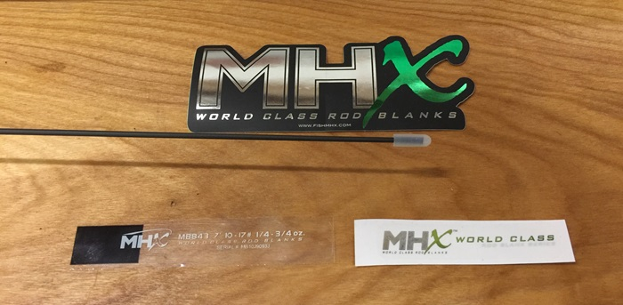 Whether for style or protection, MHX includes awesome accessories with each rod blank.