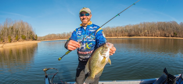 Pro Brandon Lester Chats Custom Crappie Rod - Mud Hole Blog