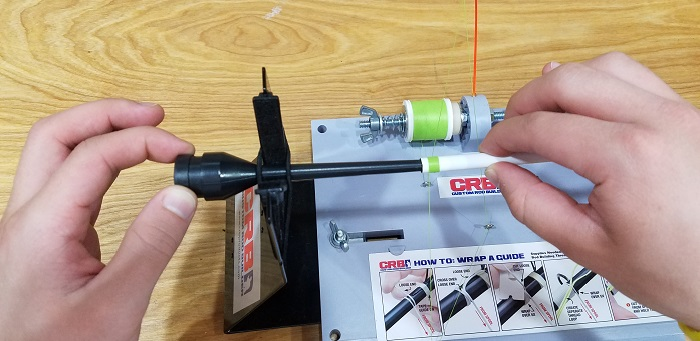 Use The CRB Rod Blank Extension Tool For Multi-Piece Rods
