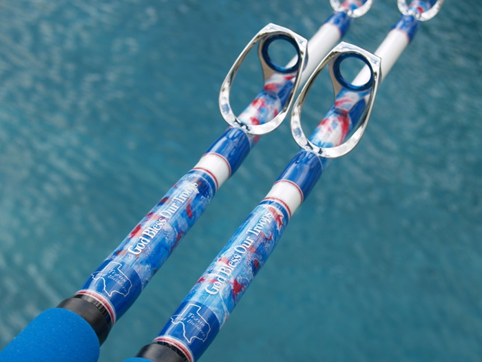 10 patriotic fishing rods to salute this july 4th mud for White fishing rod