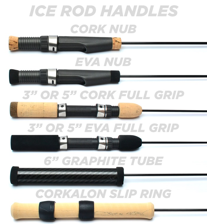 5 great ice fishing rods for this coming season mud hole for Bass fishing rod selection guide