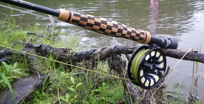 How To Build A Checkerboard Cork Handle
