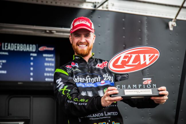 Casey O'Donell FLW Co-Angler Champion 2