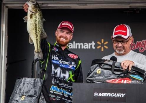 Casey O'Donnell Co-Angler Winner FLW Lake Guntersville