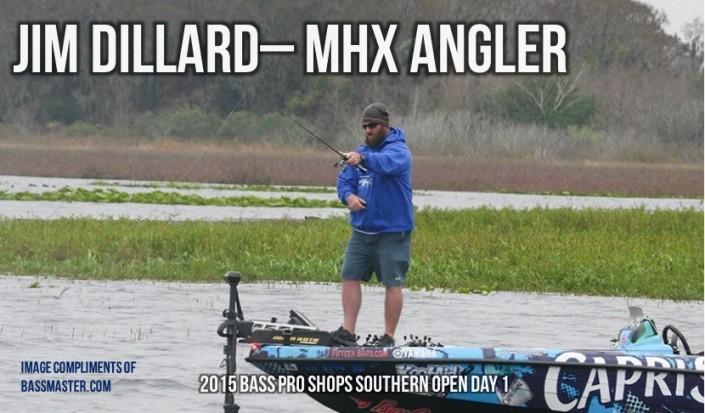 Jim Dillard Day 1 Fishing