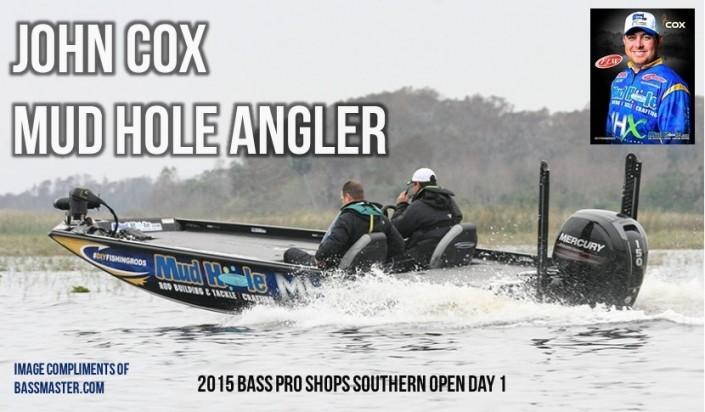 John Cox Day 1 Boat