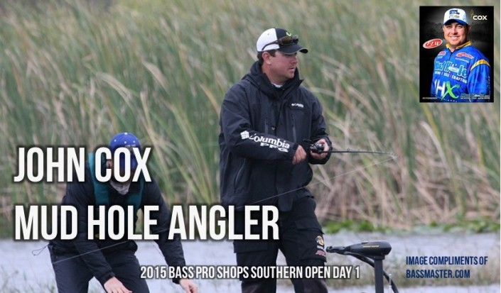 John Cox Day 1 Fishing