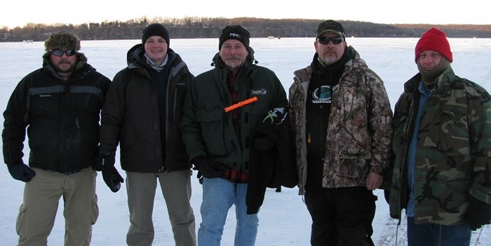 Mud Hole Instructors Go Ice Fishing